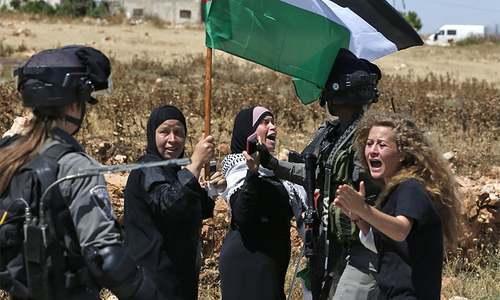 Israel charges Palestinian teen in viral 'slap video'