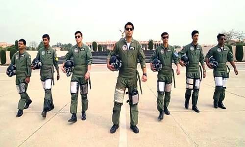 یوم پاکستان کی مناسبت سے پاک فضائیہ کا ملی نغمہ جاری