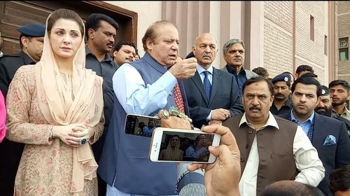 Court rejects plea for week-long absence by Sharifs