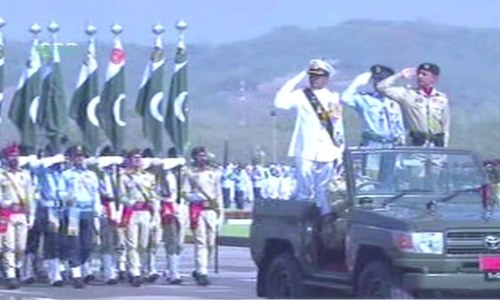 Military parade in Islamabad marks Pakistan Day