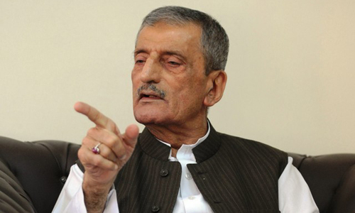 Bilour wants Peshawar to retain NA-1 constituency