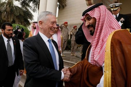 Mattis urges Saudi prince to work for political solution in Yemen