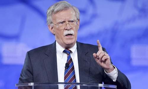 Trump's pick Bolton a 'friend' of Israel, reviled by Palestinians
