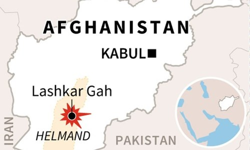 Car bomb attack in Afghanistan's Helmand province kills at least 10