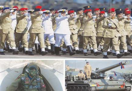 Impressive show of military might at Pakistan Day parade