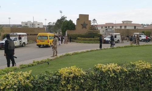 نیشنل اسٹیڈیم سیکیورٹی اداروں کے کنٹرول میں، وزیراعلیٰ بھی انتظامات سے مطمئن