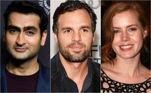 Is Kumail Nanjiani teaming up with Mark Ruffalo and Amy Adams for his next film?