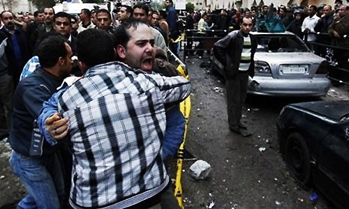 One policeman killed in blast near security convoy in Egypt's Alexandria
