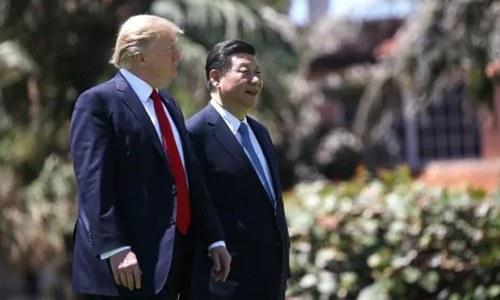 تجارتی کشیدگی: امریکا، چین کا روابط جاری رکھنے پر اتفاق