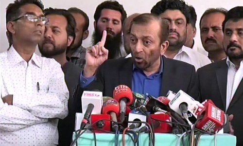 'I've been punished for standing against Altaf Hussain' — Sattar removed as MQM-P convener