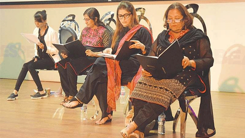 Play Seven explores stories of women activists from around the world