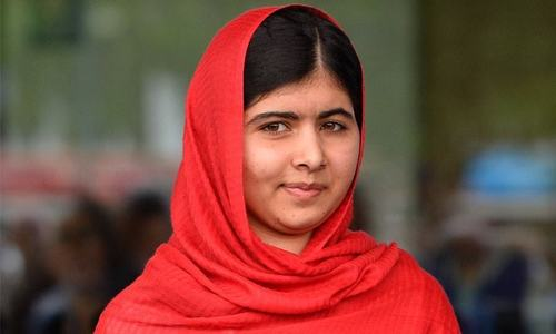 Malala sets foot on home soil after five years