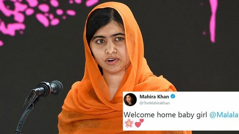 Twitter welcomes Malala, shuts down haters as she makes surprise visit to Pakistan