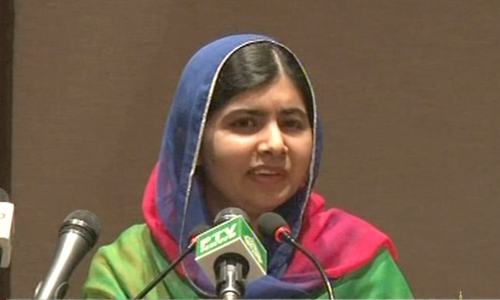 I have dreamed of returning to Pakistan for five years, says emotional Malala in homecoming speech