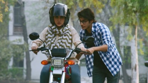 Sohai Ali Abro is biking her way into our hearts in the Motorcycle Girl trailer