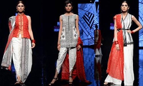سن سِلک فیشن ویک : جدید اور قدیم طرز کے ملبوسات کی بہار
