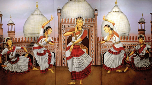 Art exhibition Abhinaya captures the beauty of classical dance