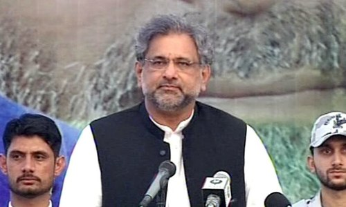 PM Abbasi reiterates allegations of horse-trading during Senate election against rivals