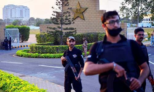 Security, traffic plans for Windies series in Karachi revealed