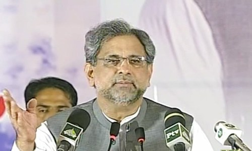 Political decisions should be taken in polling booths, not courts: PM Abbasi