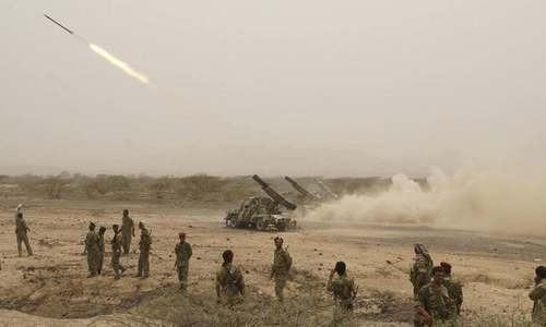 Saudi forces intercept missile fired by Houthis