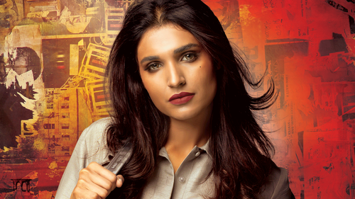 Amna Ilyas is a total badass in the 7DMI poster
