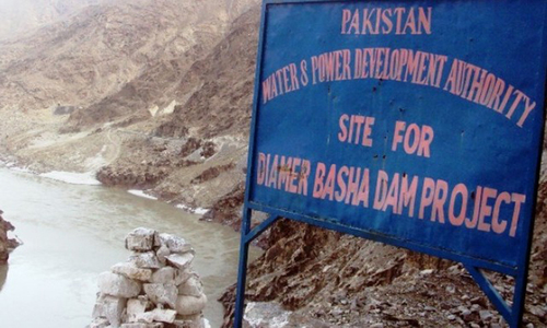 Diamer-Basha Dam: Over 14,000 acre land transferred to Wapda
