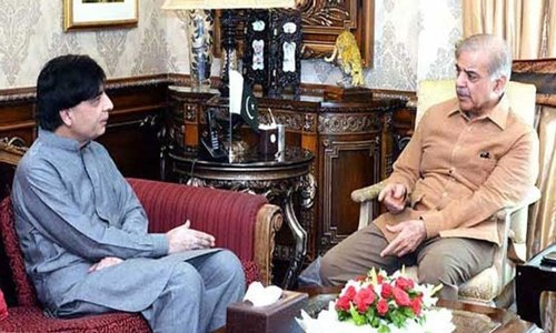 Shahbaz meets Nisar to 'address reservations'