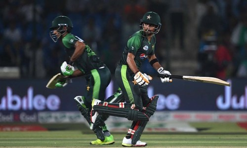 Pakistan consolidate top position on ICC's T20I points table with win against Windies