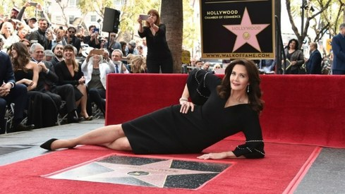 70's Wonder Woman Lynda Carter receives star on Hollywood Walk of Fame