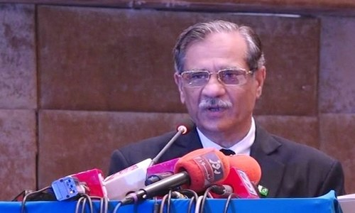 'Will go home but won't endorse martial law,' says Chief Justice Nisar