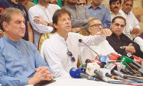Imran calls for 'truly neutral' caretaker set-up for upcoming polls