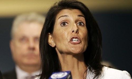 Nikki Haley says she shares Bolton's disdain for UN
