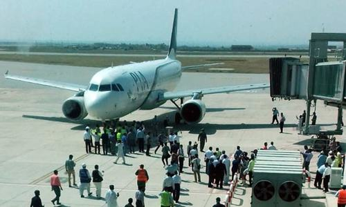 PIA test flight lands safely at New Islamabad International Airport