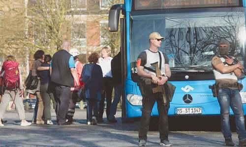 Three killed as man ploughs van into restaurant in Germany