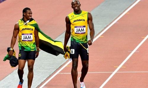 Bolt inspires Blake even in retirement