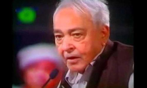 انقلابی شاعر منیر نیازی کا آج یوم پیدائش منایا جارہا ہے