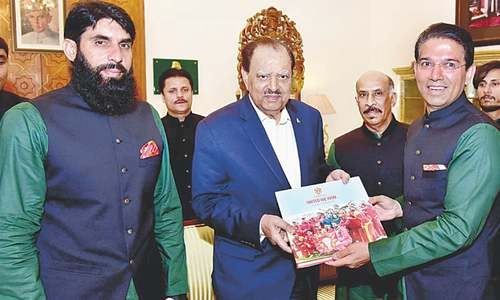 President says terrorism defeated with cricket revival in Pakistan