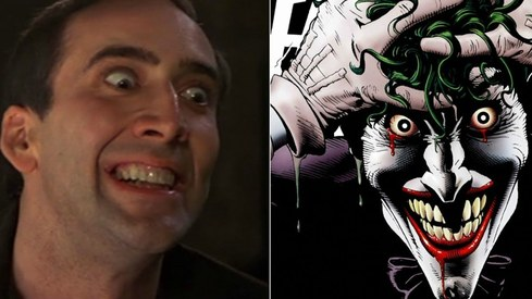So Nicolas Cage wants to play The Joker...