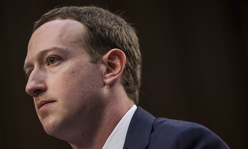 فیس بک بانی امریکی سینیٹ کمیٹی کے سامنے پیش ہوگئے