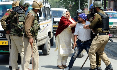 At least 7 civilians killed in fighting and protests in India-held Kashmir