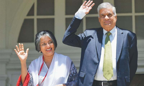 Sri Lanka's president suspends parliament for one month