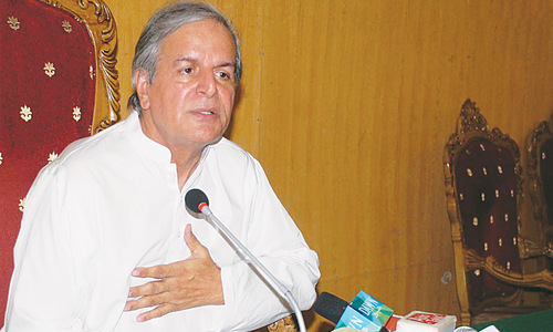 Javed Hashmi pledges to lead drive for new province