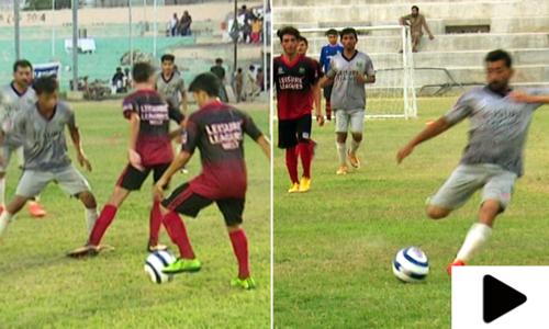 کراچی میں لیثرلیگ فٹبال ٹورنامنٹ، فاتح ٹیم پرتگال جائے گی