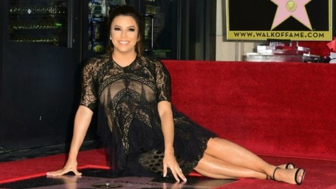 Eva Longoria gets star on Hollywood Walk of Fame