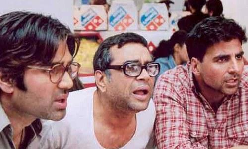 اکشے کمار کی سنیل شیٹھی اور پاریش راول کے ساتھ 'ہیرا پھیری'