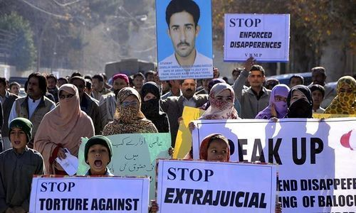 In the matter of enforced disappearances, when will we point the finger of blame where it belongs?