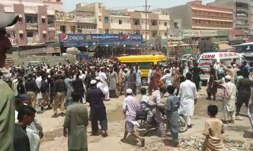 One killed, 12 injured as protest over girl's rape and murder turns violent