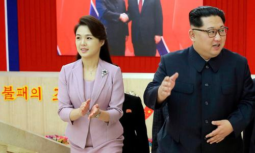 In an effort to soften his own image, Kim Jong Un turns spotlight to his sister and wife