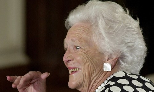 Former US first lady Barbara Bush dead at 92, confirms family